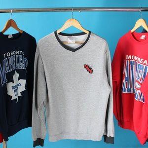 Vintage Nike Gray Sweater
